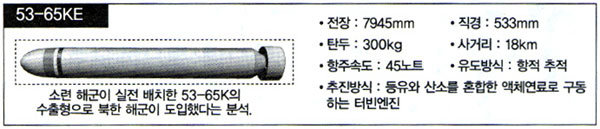 정보당국의 '북한 어뢰 능력 추적' 총력전