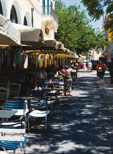 신화가 있는 곳 그리스 아테네 시장