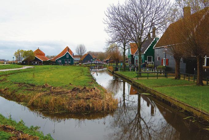 풍차 마을 네덜란드 잔세스칸스
