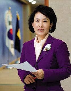 최장수 여성대변인 자유선진당 박선영 의원