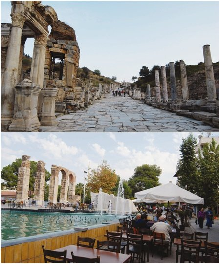 흔적만 남은 국제도시 터키 에페수스