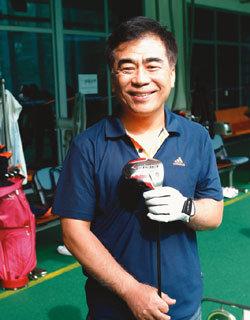 노래하는 시각장애인 골퍼 김진원