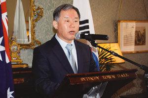 김진수 시드니 총영사