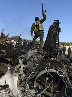 시리아軍 '독가스 폭탄'으로 최후 도박 나서나