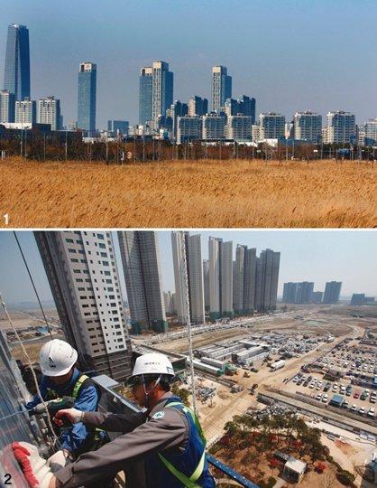 아시아의 베니스는 아직  '건설 중'…