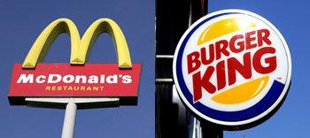 맥도날드 vs 버거킹