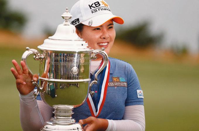LPGA 메이저 대회 3연승 대기록  박인비