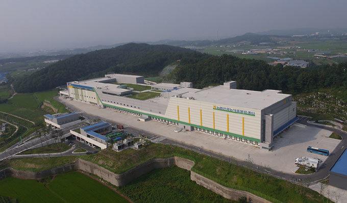 축구장 3개 넓이…110만t, 2조 원 농산물 '안성맞춤' 공급