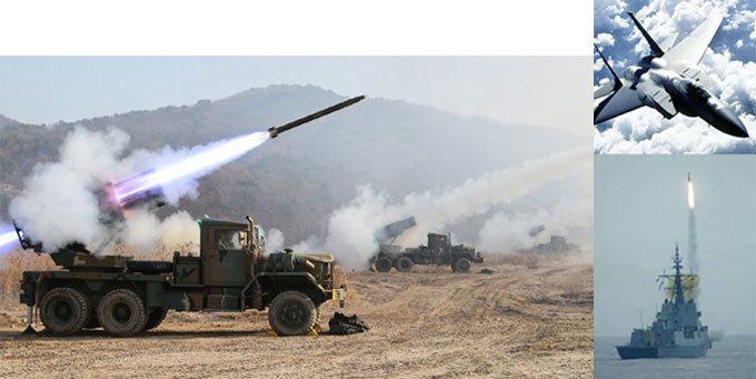 육·공군 악전고투, 해군 선전 생화학 공격하면 서울 함락