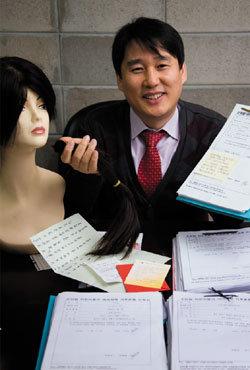 소아암 어린이에게 가발 만들어주는 국제두피모발협회 이사장 김영배
