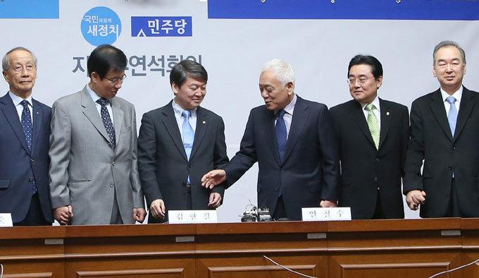 '민평련'과 새정치연합 사전 조율 '친노 견제' 권노갑의 막후 중재
