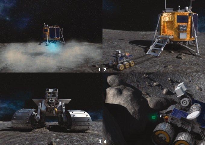 달 나라에 태극기를 꽂자!
