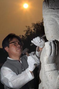 한국적 돌조각의 비밀은 신비한 화강암의 힘