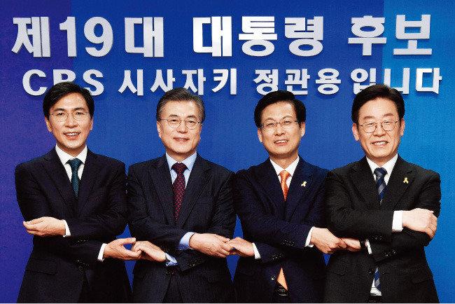 미리 보는 대선 | '박근혜 OUT=문재인 IN?'