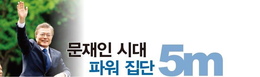 문재인 시대 파워 집단 5m