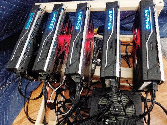 코인 투기에  컴퓨터 부품 시장 들썩