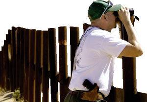뭐, 미-캐나다 국경에 철조망을?