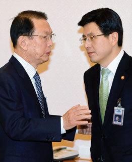 황교안 총리 후보자는 제2의 김기춘?