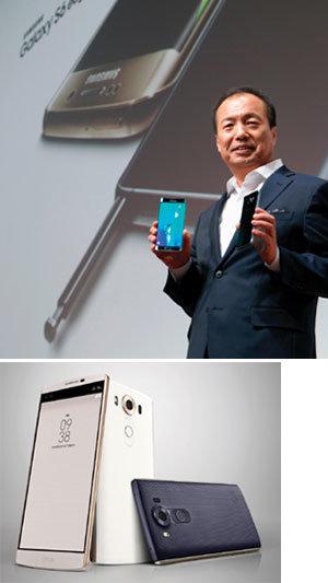 애플 독주에 삼성·LG 맞불작전