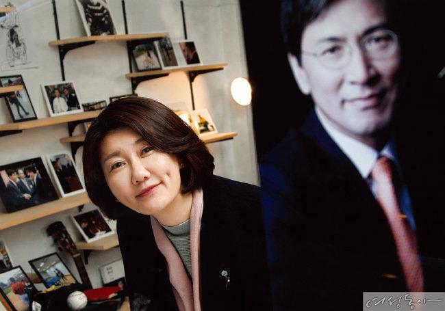 〈여성동아 단독〉 안희정 충남지사 부인 민주원 인터뷰