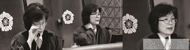 여성의 명예 회복시킨 이정미 재판관의 '헤어롤'