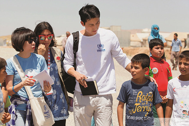 여성동아 독자들에게 이라크 난민 캠프에서