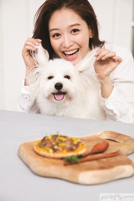 개밥 만드는 여자