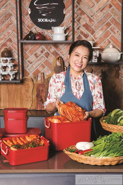 요리 아티스트 효재와 김영빈이 선택한 타파웨어 김치 키퍼