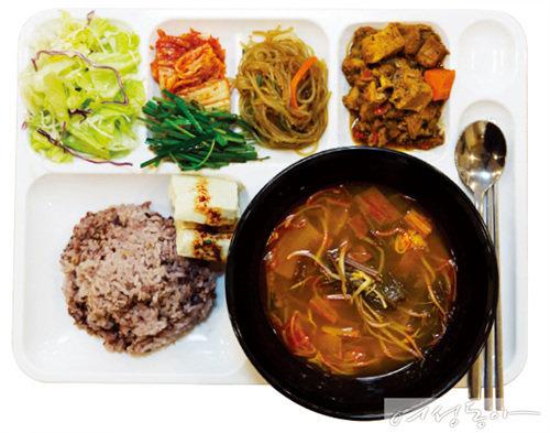 미순랭 가이드 THE MICHUNIN GUIDE 구내식당