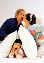 사랑스런 일곱 살배기 딸과 함께한 박철·옥소리 부부의 'Beautiful Life!'
