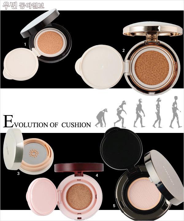 Evolution of  Cushion