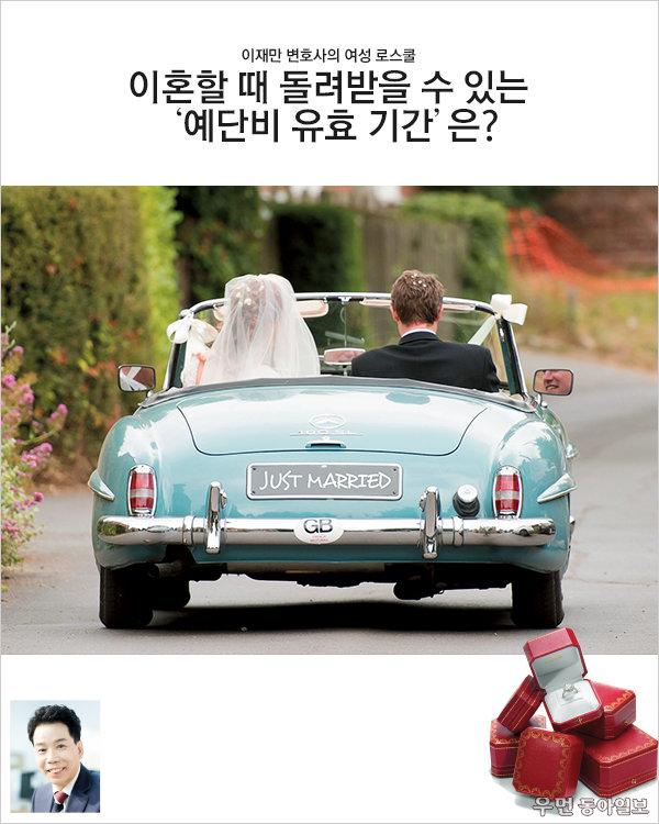 이혼할 때 돌려받을 수 있는 '예단비 유효 기간'은? 이재만 변호사의 여성 로스쿨