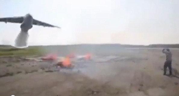 러시아의 완벽한 화재 진압 방법…'엄지 척!'
