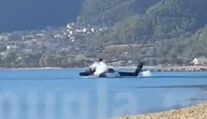 아파치 헬기, 그리스서 훈련중 바다로 추락