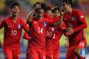 [한국 온두라스] 한국, 온두라스에 2-1 리드 (전반종료)
