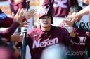[포토] 김하성 '홈런엔 나도 빠질 수 없지'