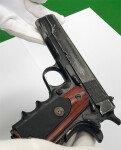 농협 강도 권총, 70년전 만든 美레밍턴 45구경