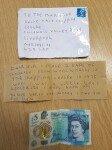 43년 전 초콜릿 훔친 도둑, 익명 편지로 사죄…과자값도 동봉
