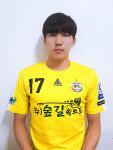 K3 양주시민축구단의 '중원 사령관' 김태성