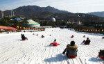 서울랜드 라바 눈썰매장, 겨울 나들이 코스로 인기
