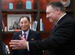 北김영철·폼페이오 회담 종료…폼페이오, 백악관 보고할 듯