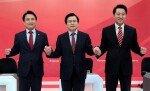 '박근혜·탄핵·태블릿 PC' 공방으로 끝난 한국당 마지막 TV토론회