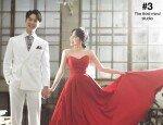 밴쯔 결혼, 웨딩화보서도 '먹방'…예비신부 '청순美' 뿜뿜