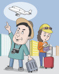 [Travel Trend]가족 여행 계획은 엄마가? 요즘은 50대 아저씨도 '꼼꼼 비교'