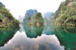 깊은 협곡-은은한 안개 펼쳐진 '지상 무릉도원' 中장가계