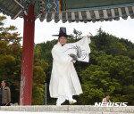 '성추문' 하용부, 밀양백중놀이 인간문화재 인정 해제