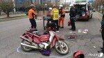 25톤 덤프트럭 오토바이 추돌…70대 부부 사망