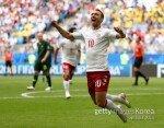 [월드컵] 덴마크-호주, 전반전 1-1… '에릭센-예디낙 골'