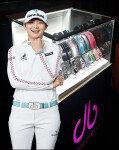 드루벨트, '골프 여왕'의 벨트…콜렉션 모으는 재미까지