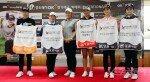 [포토] 박세리 US오픈 20주년을 축하하는 후배 골프선수!
